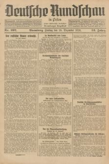 Deutsche Rundschau in Polen : früher Ostdeutsche Rundschau, Bromberger Tageblatt. Jg.52, Nr. 297 (28 Dezember 1928) + dod.