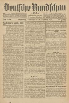 Deutsche Rundschau in Polen : früher Ostdeutsche Rundschau, Bromberger Tageblatt. Jg.52, Nr. 298 (29 Dezember 1928) + dod.