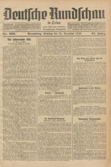 Deutsche Rundschau in Polen : früher Ostdeutsche Rundschau, Bromberger Tageblatt. Jg.52, Nr. 299 (30 Dezember 1928) + dod.