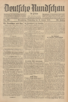 Deutsche Rundschau in Polen : früher Ostdeutsche Rundschau, Bromberger Tageblatt. Jg.53, Nr. 26 (31 Januar 1929) + dod.