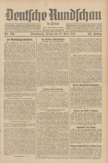 Deutsche Rundschau in Polen : früher Ostdeutsche Rundschau, Bromberger Tageblatt. Jg.53, Nr. 90 (19 April 1929) + dod.