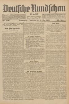 Deutsche Rundschau in Polen : früher Ostdeutsche Rundschau, Bromberger Tageblatt. Jg.53, Nr. 106 (9 Mai 1929) + dod.