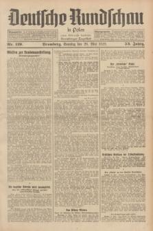 Deutsche Rundschau in Polen : früher Ostdeutsche Rundschau, Bromberger Tageblatt. Jg.53, Nr. 119 (26 Mai 1929) + dod.