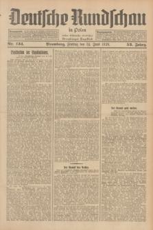Deutsche Rundschau in Polen : früher Ostdeutsche Rundschau, Bromberger Tageblatt. Jg.53, Nr. 134 (14 Juni 1929) + dod.