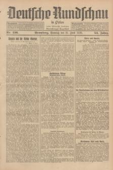 Deutsche Rundschau in Polen : früher Ostdeutsche Rundschau, Bromberger Tageblatt. Jg.53, Nr. 136 (16 Juni 1929) + dod.