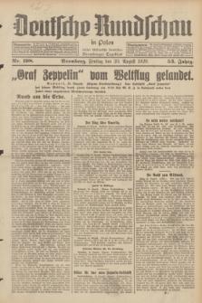 Deutsche Rundschau in Polen : früher Ostdeutsche Rundschau, Bromberger Tageblatt. Jg.53, Nr. 198 (30 August 1929) + dod.
