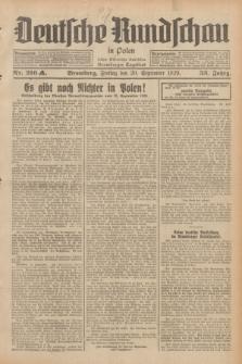 Deutsche Rundschau in Polen : früher Ostdeutsche Rundschau, Bromberger Tageblatt. Jg.53, Nr. 216 (20 September 1929) + dod.