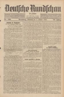 Deutsche Rundschau in Polen : früher Ostdeutsche Rundschau, Bromberger Tageblatt. Jg.53, Nr. 226 (2 Oktober 1929) + dod.