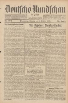 Deutsche Rundschau in Polen : früher Ostdeutsche Rundschau, Bromberger Tageblatt. Jg.53, Nr. 236 (13 Oktober 1929) + dod.