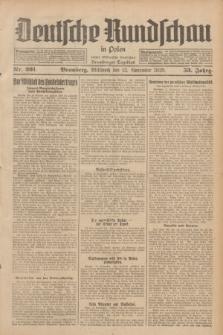 Deutsche Rundschau in Polen : früher Ostdeutsche Rundschau, Bromberger Tageblatt. Jg.53, Nr. 261 (13 November 1929) + dod.