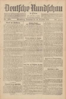 Deutsche Rundschau in Polen : früher Ostdeutsche Rundschau, Bromberger Tageblatt. Jg.53, Nr. 298 (28 Dezember 1929) + dod.