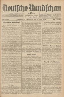 Deutsche Rundschau in Polen : früher Ostdeutsche Rundschau, Bromberger Tageblatt. Jg.54, Nr. 139 (19 Juni 1930) + dod.