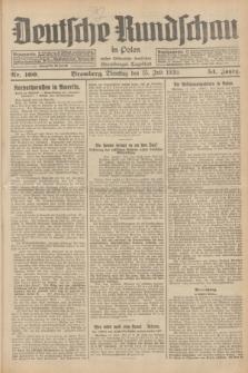 Deutsche Rundschau in Polen : früher Ostdeutsche Rundschau, Bromberger Tageblatt. Jg.54, Nr. 160 (15 Juli 1930) + dod.