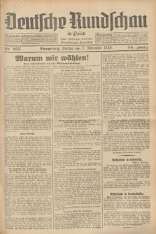 Deutsche Rundschau in Polen : früher Ostdeutsche Rundschau, Bromberger Tageblatt. Jg.54, Nr. 257 (7 November 1930) + dod.