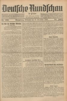 Deutsche Rundschau in Polen : früher Ostdeutsche Rundschau, Bromberger Tageblatt. Jg.54, Nr. 290 (17 Dezember 1930) + dod.