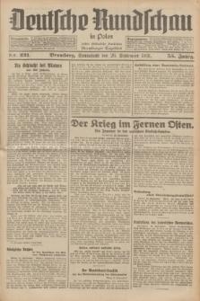 Deutsche Rundschau in Polen : früher Ostdeutsche Rundschau, Bromberger Tageblatt. Jg.55, Nr. 221 (26 September 1931) + dod.