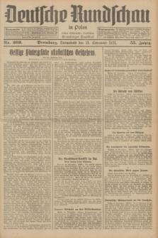 Deutsche Rundschau in Polen : früher Ostdeutsche Rundschau, Bromberger Tageblatt. Jg.55, Nr. 269 (21 November 1931) + dod.