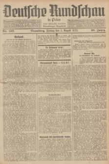 Deutsche Rundschau in Polen : früher Ostdeutsche Rundschau, Bromberger Tageblatt. Jg.56, Nr. 177 (5 August 1932) + dod.