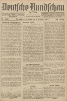 Deutsche Rundschau in Polen : früher Ostdeutsche Rundschau, Bromberger Tageblatt. Jg.56, Nr. 257 (9 November 1932) + dod.