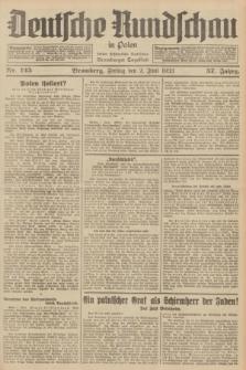 Deutsche Rundschau in Polen : früher Ostdeutsche Rundschau, Bromberger Tageblatt. Jg.57, Nr. 125 (2 Juni 1933) + dod.