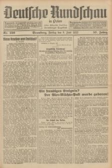 Deutsche Rundschau in Polen : früher Ostdeutsche Rundschau, Bromberger Tageblatt. Jg.57, Nr. 130 (9 Juni 1933) + dod.