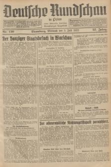 Deutsche Rundschau in Polen : früher Ostdeutsche Rundschau, Bromberger Tageblatt. Jg.57, Nr. 150 (5 Juli 1933) + dod.