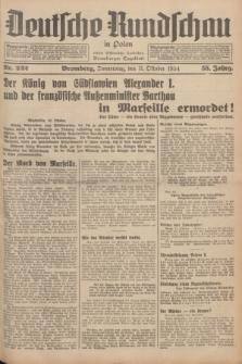 Deutsche Rundschau in Polen : früher Ostdeutsche Rundschau, Bromberger Tageblatt. Jg.58, Nr. 232 (11 Oktober 1934) + dod.