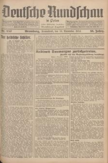 Deutsche Rundschau in Polen : früher Ostdeutsche Rundschau, Bromberger Tageblatt. Jg.58, Nr. 257 (10 November 1934) + dod.