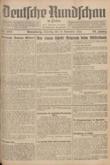 Deutsche Rundschau in Polen : früher Ostdeutsche Rundschau, Bromberger Tageblatt. Jg.58, Nr. 264 (18 November 1934) + dod.