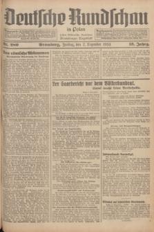 Deutsche Rundschau in Polen : früher Ostdeutsche Rundschau, Bromberger Tageblatt. Jg.58, Nr. 280 (7 Dezember 1934) + dod.