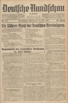 Deutsche Rundschau in Polen : früher Ostdeutsche Rundschau, Bromberger Tageblatt. Jg.59, Nr. 144 (26 Juni 1935) + dod.