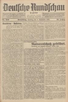 Deutsche Rundschau in Polen : früher Ostdeutsche Rundschau, Bromberger Tageblatt. Jg.59, Nr. 206 (8 September 1935) + dod.