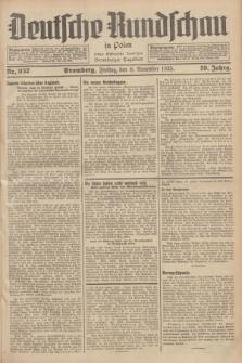 Deutsche Rundschau in Polen : früher Ostdeutsche Rundschau, Bromberger Tageblatt. Jg.59, Nr. 257 (8 November 1935) + dod.