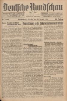 Deutsche Rundschau in Polen : früher Ostdeutsche Rundschau, Bromberger Tageblatt. Jg.60, Nr. 200 (30 August 1936) + dod.