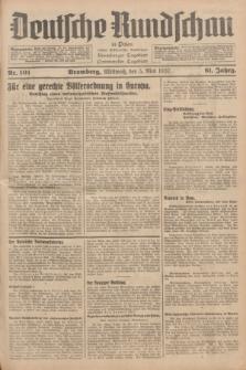 Deutsche Rundschau in Polen : früher Ostdeutsche Rundschau, Bromberger Tageblatt, Pommereller Tageblatt. Jg.61, Nr. 101 (5 Mai 1937) + dod.