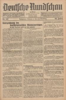 Deutsche Rundschau in Polen = Przegląd Niemiecki w Polsce : früher Ostdeutsche Rundschau, Bromberger Tageblatt, Pommereller Tageblatt. Jg.63, Nr. 117 (24 Mai 1939) + dod.