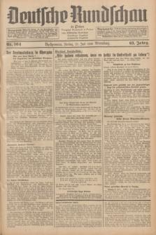 Deutsche Rundschau in Polen = Przegląd Niemiecki w Polsce : früher Ostdeutsche Rundschau, Bromberger Tageblatt, Pommereller Tageblatt. Jg.63, Nr. 164 (21 Juli 1939) + dod.