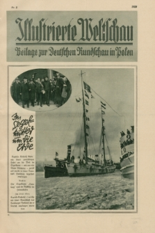 Illustrierte Weltschau : Beilage zur Deutschen Rundschau in Polen. 1928, Nr. 2 ([11 Januar])