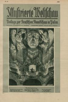 Illustrierte Weltschau : Beilage zur Deutschen Rundschau in Polen. 1928, Nr. 10 ([7 März])