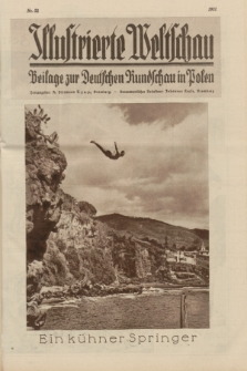 Illustrierte Weltschau : Beilage zur Deutschen Rundschau in Polen. 1931, Nr. 32 ([11 August])