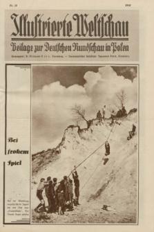 Illustrierte Weltschau : Beilage zur Deutschen Rundschau in Polen. 1932, nr 15 (12 April)
