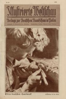 Illustrierte Weltschau : Beilage zur Deutschen Rundschau in Polen. 1932, nr 23 (5 Juni)