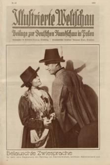 Illustrierte Weltschau : Beilage zur Deutschen Rundschau in Polen. 1932, Nr. 33 ([17 August])