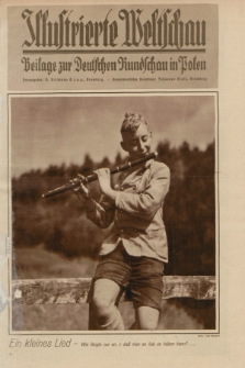 Illustrierte Weltschau : Beilage zur Deutschen Rundschau in Polen. 1932, Nr. 34 ([21 August])