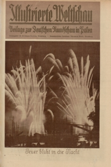 Illustrierte Weltschau : Beilage zur Deutschen Rundschau in Polen. 1932, Nr. 36 ([4 September])