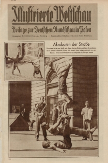 Illustrierte Weltschau : Beilage zur Deutschen Rundschau in Polen. 1932, Nr. 42 ([1 Oktober])
