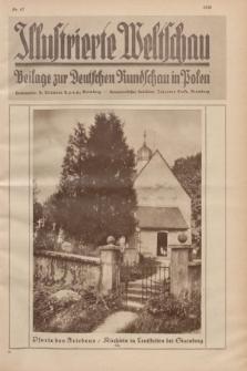 Illustrierte Weltschau : Beilage zur Deutschen Rundschau in Polen. 1929, Nr. 47 ([26 November])