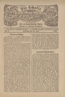"""Die Scholle : früher """"Der Ostmärker"""" : land- und hauswirtschaftlicher Ratgeber : Beilage zur """"Deutschen Rundschau"""". 1922, Nr. 7 (23 April)"""