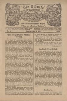 """Die Scholle : früher """"Der Ostmärker"""" : land- und hauswirtschaftlicher Ratgeber : Beilage zur """"Deutschen Rundschau"""". 1922, Nr. 8 (7 Mai)"""