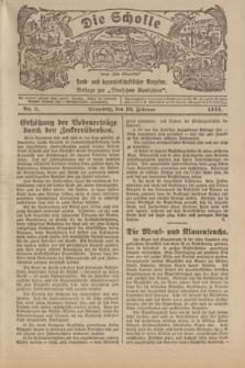 """Die Scholle : früher """"Der Ostmärker"""" : land- und hauswirtschaftlicher Ratgeber : Beilage zur """"Deutschen Rundschau"""". 1924, Nr. 3 (10 Februar)"""